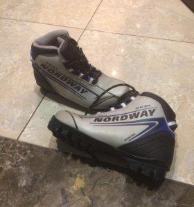 Лыжные ботинки р35