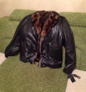 Куртка зима (дублёнка)
