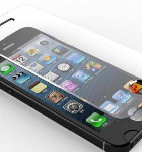 Защитное стекло на iPhone 4/5s/6/6Plus/7/7+/8/8+/X