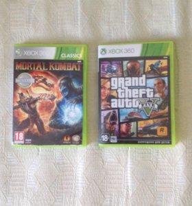 Диск доя Xbox 360 GTA5