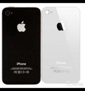 Задняя крышка iPhone 4  / 4 s