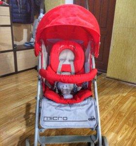 Детская коляска трость Cam Microair б/у