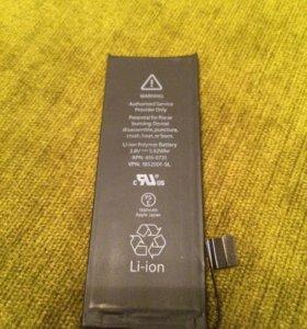 Оригинальный аккумулятор для iPhone 5s б/у