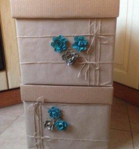 Обалденные декорированные коробки для хранения