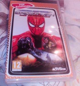 Игра на psp spider man web of shadows