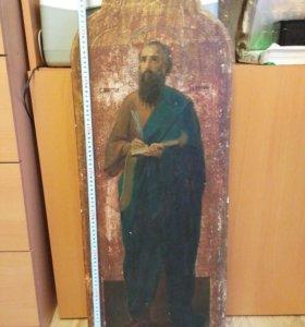 Икона 19 век Апостол Иуда Брат Господень.