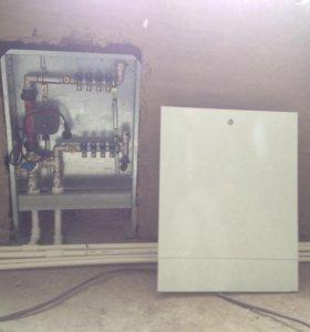 Монтаж электрик сантехник и отопление любых видов