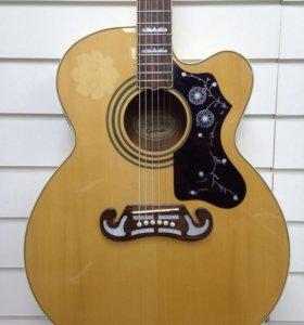 Гитара электроакустическая Epiphone EJ 200 CE