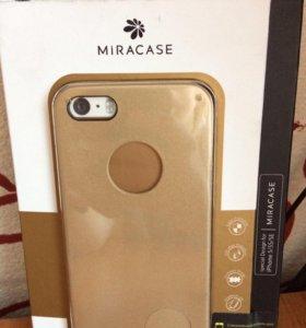Фирменный чехол MiraCase iPhone 5, 5s, 5 SE