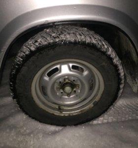 Продам зимние колёса на дисках