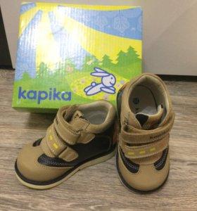 Ботинки  натур кожа Kapika