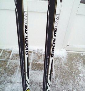 Лыжи Fisher для класси 202 новые с креплениями NNN