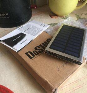 Аккумулятор, зарядка  на солнечных элементах