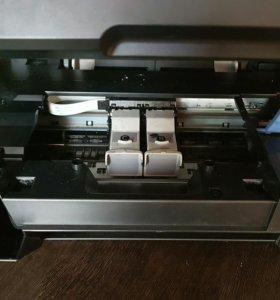 Продам принтер+сканер.  Требуется замена катриджей