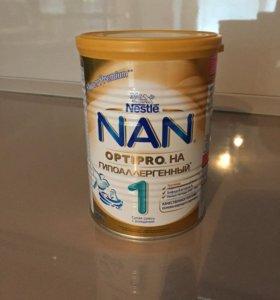 NAN гипоаллергенный детская смесь