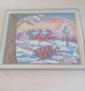 Картина Морозное Утро