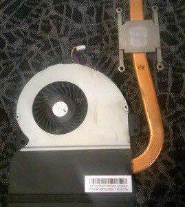 Радиатор от ноутбука k43