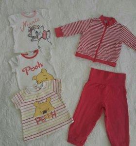 Одежда на малышку 74-80