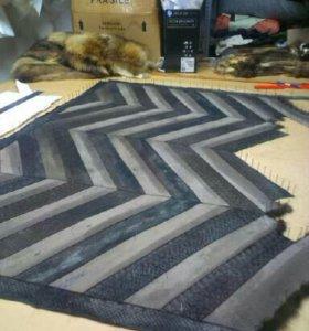 Пошив жилетов из меха