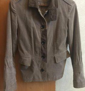 Пиджак вильветовый