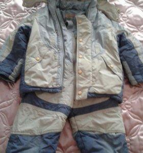 Зимний комбинезон на мальчика 3-4 лет