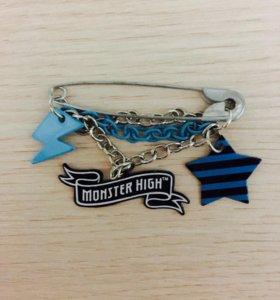 Булавка/брошь Monster High