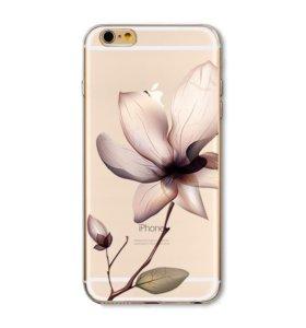Силиконовые чехлы iPhone 5s, 6s