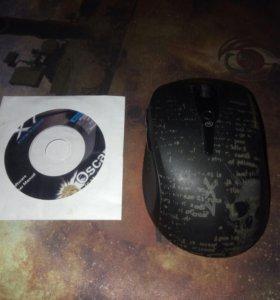 Игровая (без проводная ) мышка x7 Обмен возможен !