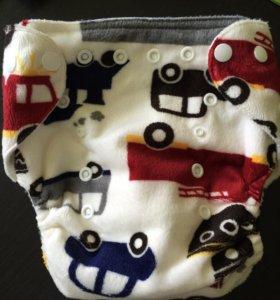 Новый! Многоразовый плюшевый памперс