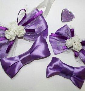 Бутоньерки для подружек невесты