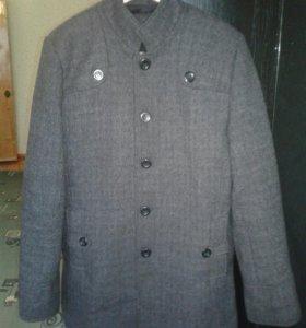 Zara man (мужское зимное пальто 56 размер)
