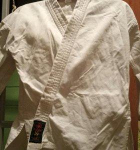 Форма для каратэ дзюдо тонкая и плотная