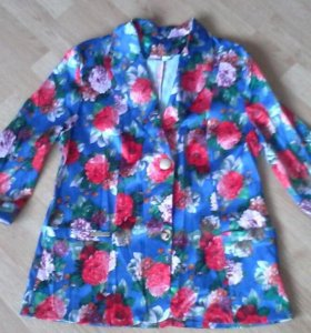 Новый атласный пиджак