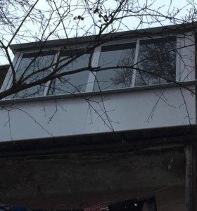 Окна ПВХ. Обшивка балконов