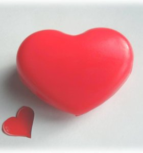 Мыло-сердечки на 14 февраля