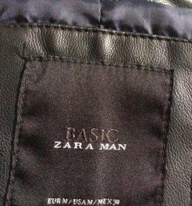 Кожаная куртка ( ZARA man)