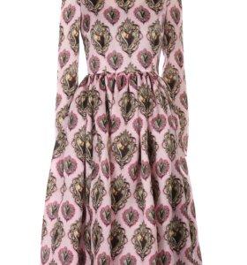 Платье длина миди