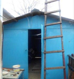 Металлический гараж 15 м2