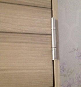 Дверь 60 см, высота 2 метра, цвет королевский орех