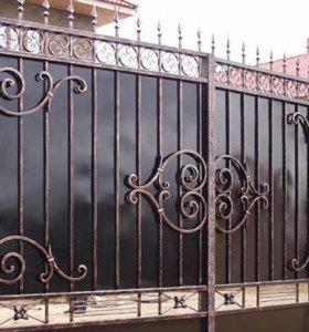Кованые ворота арт.12