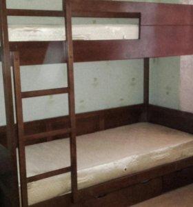 Кровать двухъярусные ''Юниор-5''