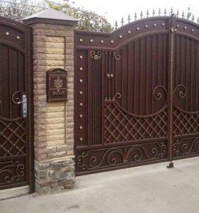 Кованые ворота арт.14