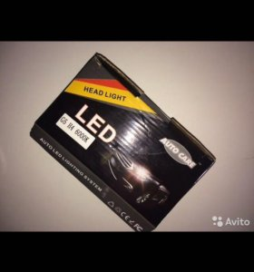 Новые светодиодные лампы Н4 6000к