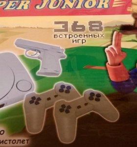 Приставка SUPER JUNIOR +пистолет+368 игр