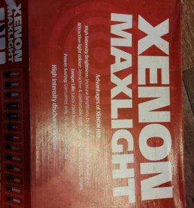 Ксенон maxlight  h1 5000k. НОВЫЙ. полный комплект
