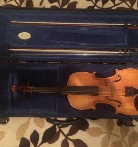 Скрипка (футляр, смычок)