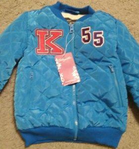 Курточка для мальчика 98-104