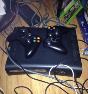 Xbox 360 +4 игры
