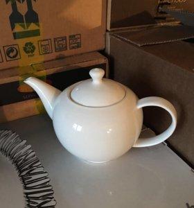 Чайник заварной (белый) 400 мл.
