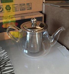 Чайник заварной (стекло) 400 мл.